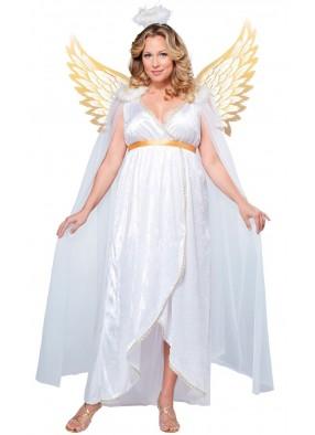 Костюм Ангел с золотистыми крыльями