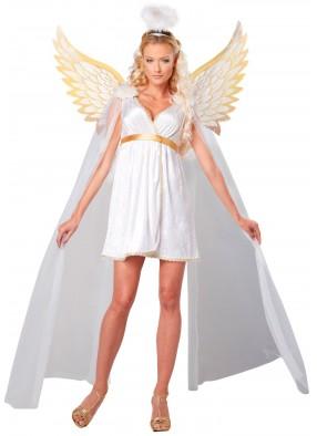 Костюм Ангела в коротком платье