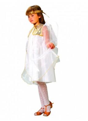 Костюм белого ангела для девочки