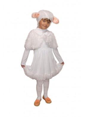 Костюм белой овечки для девочки