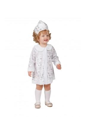 Костюм белой снегурочки для девочки