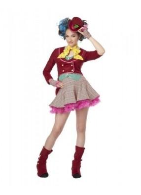 Костюм безумной шляпницы для девочки