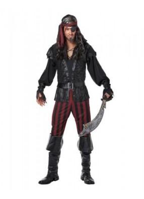 Костюм безжалостного разбойника пирата фото