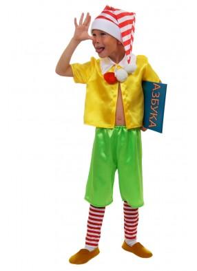 Костюм Буратино с колпаком для мальчика