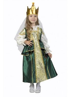 Костюм Царевны Лягушки для девочки в народном стиле