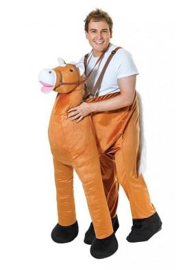 Костюм человек на лошади
