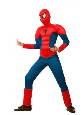Костюм Человек-паук мускулистый фото