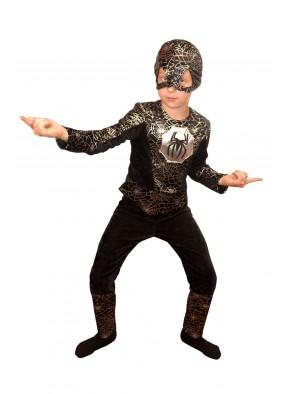 Костюм черного человека паука для мальчика