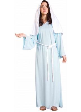 Костюм Дева Мария в голубом взрослый