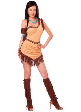Костюм девушки племени Апачи