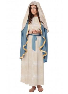 Костюм Девы Марии нежный фото