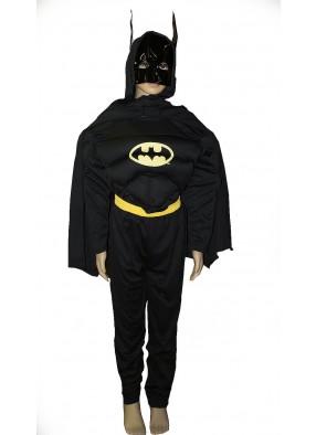 Костюм для мальчиков Бэтмен с мышцами фото