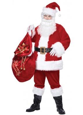 Костюм добрый Санта Клаус взрослый