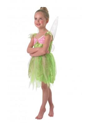 Костюм Феи Динь Динь со светящимися крыльями фото