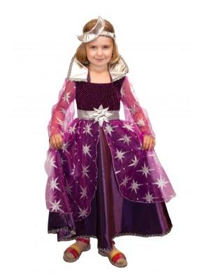 Костюм фиолетовой феи ночи для девочки