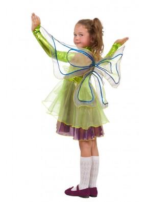 Костюм фиолетовой феи стрекозы для девочки