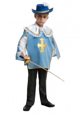 Костюм голубого мушкетера для мальчика