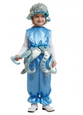 Костюм голубого осьминога для девочки