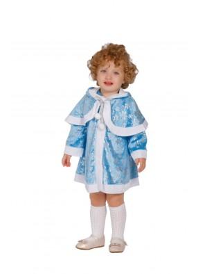 Костюм голубой снегурочки для девочки