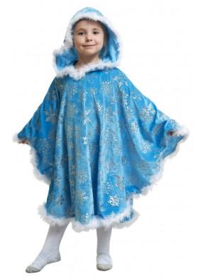 Костюм голубой зимы для девочки