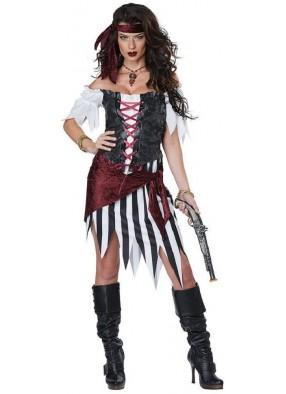 Костюм храброй Пиратки deluxe