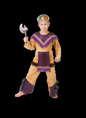 Костюм индейца мальчика