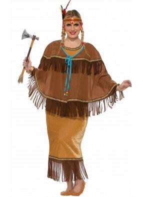 Костюм индейская принцесса большого размера фото