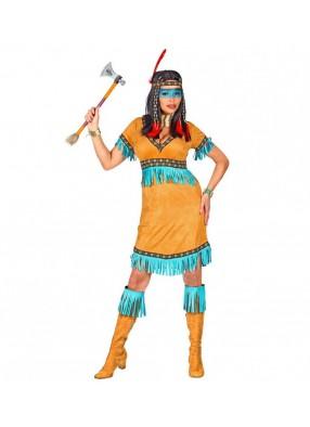 Костюм индейской девушки-воительницы