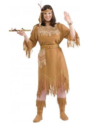 Костюм индейской женщины