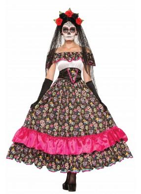 Костюм Испанская кукла Вуду взрослый
