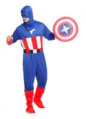 Костюм Капитана Америки для взрослого
