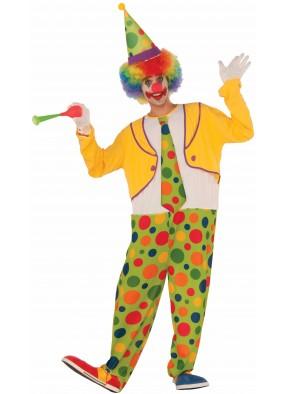 Костюм клоун в горох фото