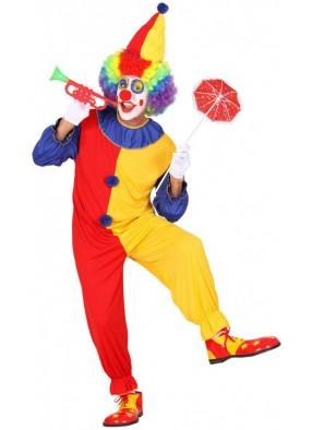 Костюм клоуна с колпаком