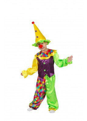 Костюм клоуна Сени для мальчика