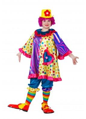 Костюм клоунессы для девочки