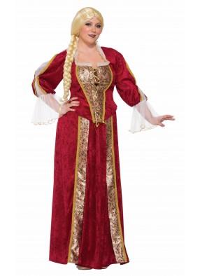Костюм королева Ренессанса большого размера фото