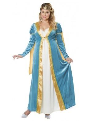 Костюм королевы ренесанса большого размера