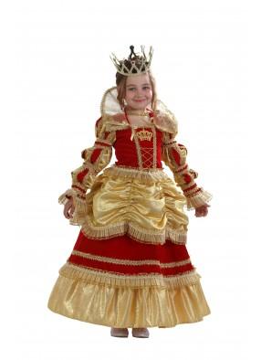 Костюм королевы золотой фото