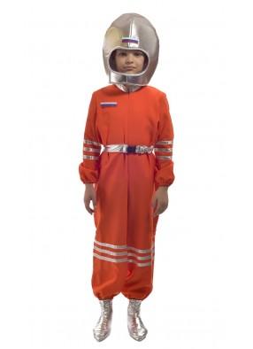 Костюм космонавта оранжевый фото