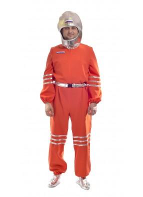 Костюм Космонавта в серебристом шлеме фото