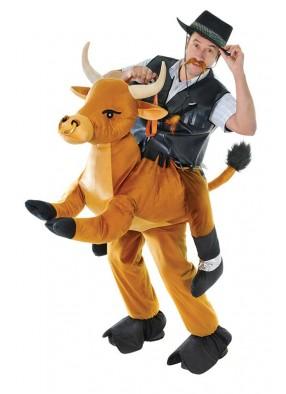 Костюм ковбой на буйволе