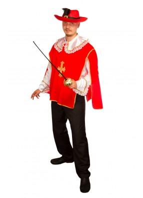Костюм красного мушкетера
