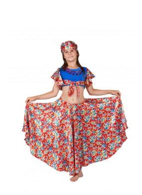 Костюм красной цыганки для девочки
