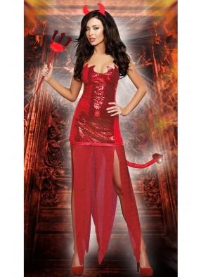 Костюм Красной дьяволицы 1 фото
