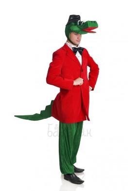 Костюм крокодила в красном