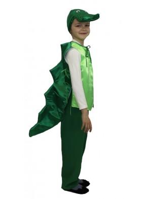 Костюм крокодила зеленого фото