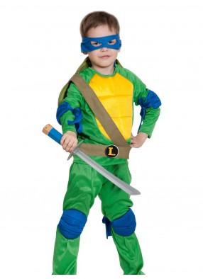 Костюм Леонардо с мечом детский