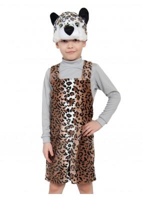 Костюм леопардика плюшевый
