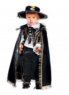 Костюм малыш Зорро престиж детский фото