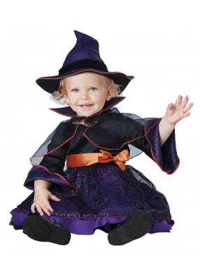 Костюм малышки ведьмочки фото